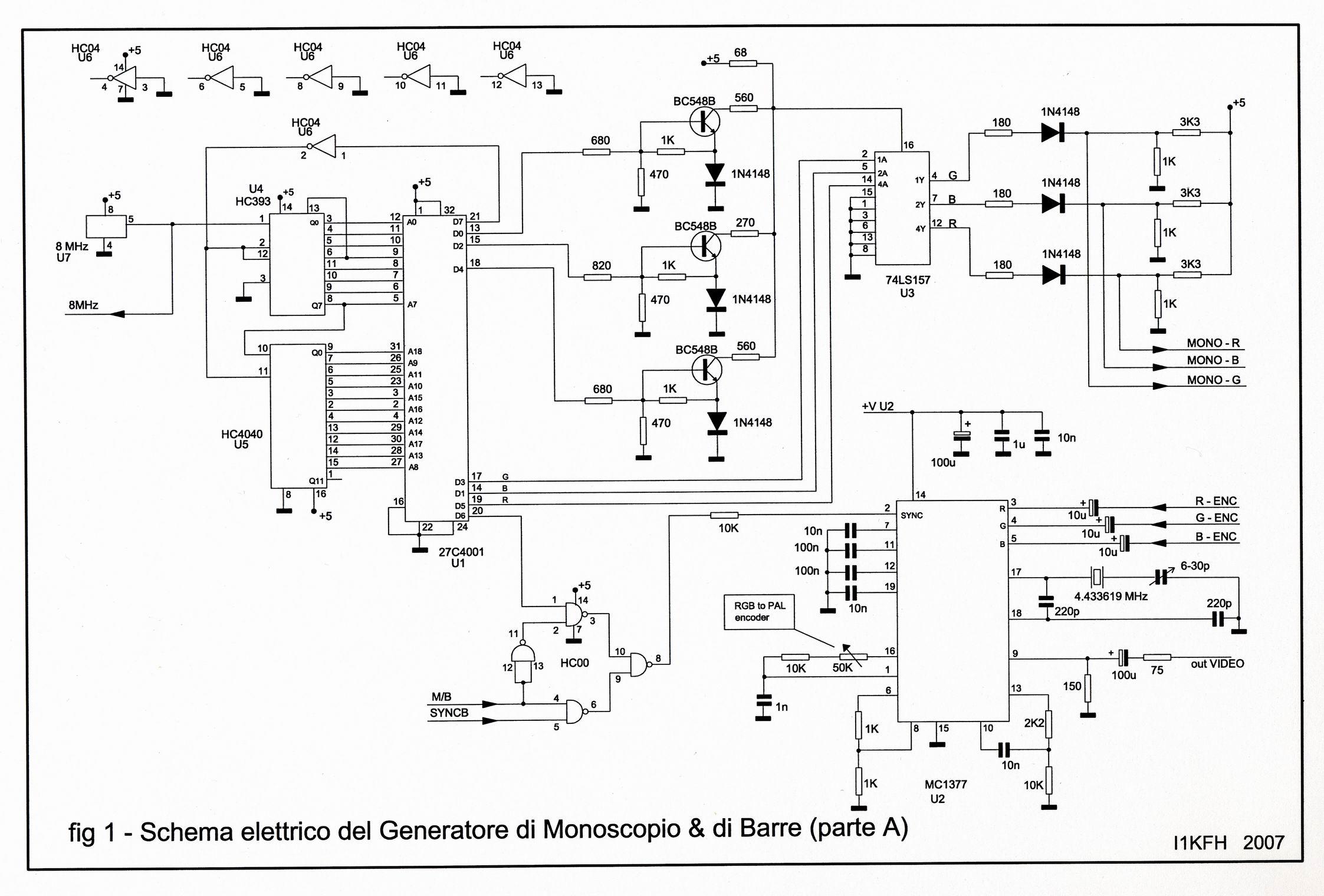 Schemi Elettrici Di Circuiti : Casale monferrato. benvenuti in aricasale » tecnica atv